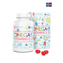 Антиоксидант LIFE beauty_and_wellness Omega 3 kids  90 капсул